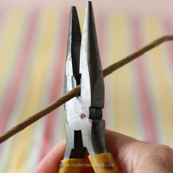 Wire cutters to cut stems